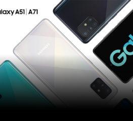 Samsung ส่งสมาร์ทโฟนสุดเจ๋ง Galaxy A51 และ Galaxy A71 ประเดิมต้นปี พร้อมจัดเต็มฟีเจอร์ กล้อง-จอ-แบต สุดทุกเรื่องในเครื่องเดียว