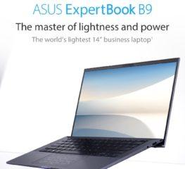 """Asus Expertbook B9 ใหม่ 14"""" น้ำหนักเบา ประสิทธิภาพแน่น"""