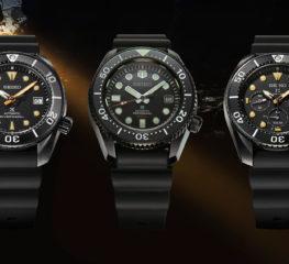 "Seiko ประกาศเปิดนาฬิกา Prospex Dive สามรุ่นใหม่ของ ""Black Series"""