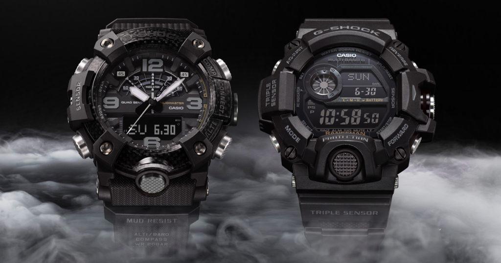Casio G-Shock เพิ่มความเป็นมาสเตอร์ยอดนิยมของซีรี่ส์ G ด้วยการเปิดตัวนาฬิการุ่น MUDMASTER และ RANGEMAN