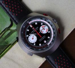 นาฬิกา HAMILTON CHRONO-MATIC 50 LE ผลงานการออกแบบที่โดดเด่นที่สุดของแฮมิลตัน