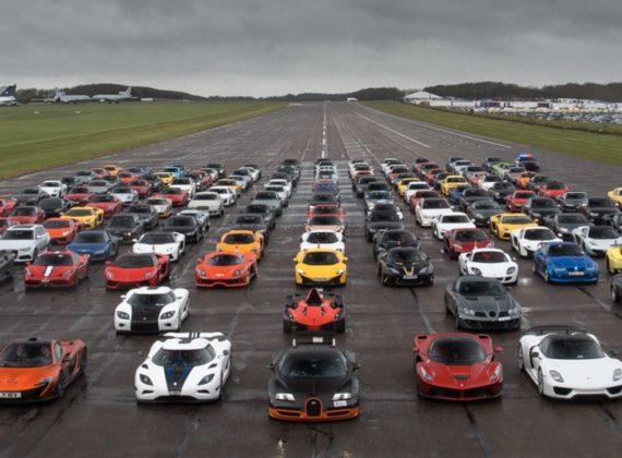 10 รถยนต์ที่เร็วที่สุดในโลกแห่งปี 2019