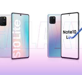 "Samsung เปิดตัวไลน์อัปใหม่ ""Galaxy Note 10lite และ Galaxy S10lite"" มอบประสบการณ์ กาแลคซี่ระดับแฟล็กชิปไว้บนมือคุณ ในราคาที่เข้าถึงได้"