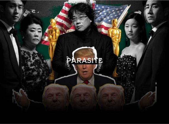 เรียกแขกไม่หยุดเมื่อ โดนัล ทรัมป์  ว่าที่ Parasite ได้รางวัลออสการ์
