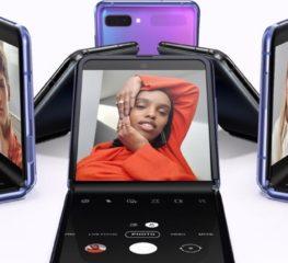 เผยโฉม Samsung Galaxy Z Flip สมาร์ทโฟนพับได้