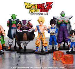 เปิดตัว Dragon Ball Z – Smash Battle: The Miniatures Game