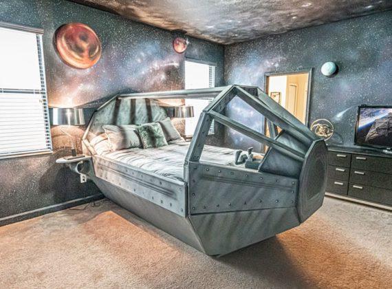 ฝันที่เป็นจริงของแฟน Star Wars กับบ้านพัก Airbnb