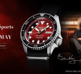 "Seiko 5 Sports x Brian May ร่วมฉลองกีต้าร์ระดับตำนาน กับ ""Red Special"""