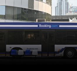 """Booking.com เปิดตัว """"Bangkok Booking Bus"""" รถบัสพักได้หนึ่งเดียวในโลกที่ได้รับแรงบันดาลใจมาจากความเป็นไทย มอบประสบการณ์ใหม่ นอนค้างคืนเมืองกรุงฯ ริมแม่น้ำเจ้าพระยา"""