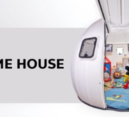 EZDOME HOUSE จะแคมป์ปิ้งหรือเจอภัยพิบัติก็สร้างบ้านแบบ DIY ได้ทันที