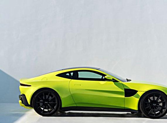 Aston Martin Vantage ใหม่ อัดแน่นด้วยเครื่องยนต์ V8 503 แรงม้า