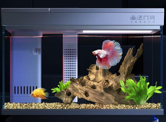 ตู้ปลาอัจฉริยะ Xiaomi Geometry Control AI Fish Tank ให้การเลี้ยงปลาตู้ง่ายขึ้น