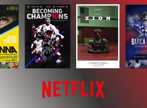 10 คอนเทนท์กีฬาบน Netflix พร้อมแก้เหงายามอยู่บ้านหนีโควิด!