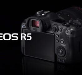 กล้อง EOS R5 ของแคนนอนเสนอ 8K วิดีโอฟูลเฟรม และออโต้โฟกัสที่ล้ำสมัย