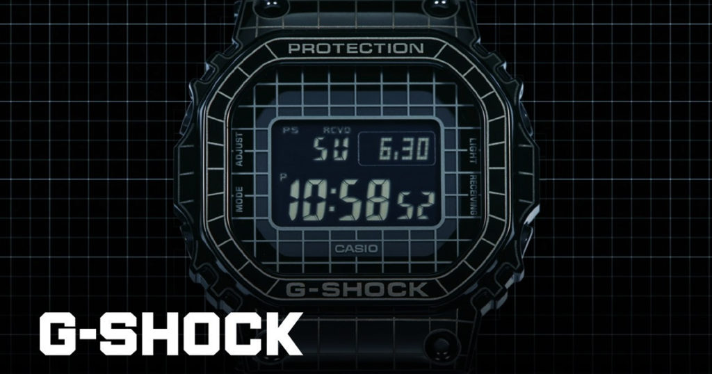 Casio เปิดตัว G-SHOCK Full Metal Construction GMW-B5000CS พร้อมแรงบันดาลใจการออกแบบจากนาฬิกาโลหะยุค 80s