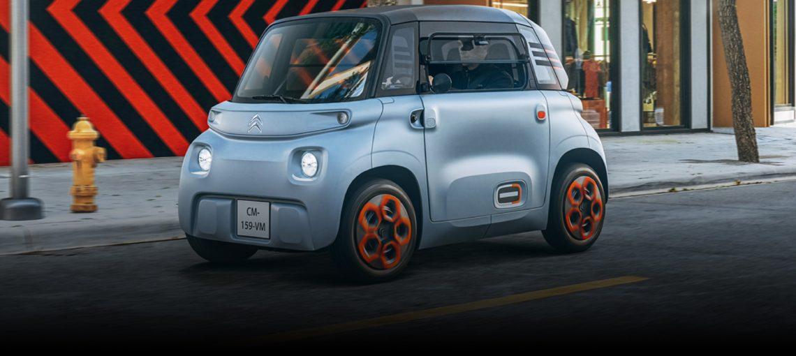Citroën เปิดตัวรถยนต์ไฟฟ้าขนาดเล็ก Ami ไม่ต้องใช้ใบขับขี่รถยนต์ เพื่อวัยรุ่น 14ปีขึ้นไป