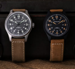 HAMILTON พาคุณย้อนเวลาไปกับ KHAKI FIELD TITANIUM นาฬิกาดีไซน์วินเทจร่วมสมัยที่เรียบเท่สไตล์ทหารยุค GREAT WAR