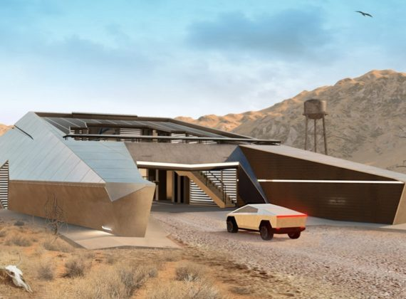 Cyber House บ้านที่ออกแบบมาเพื่อหลบภัยในวันสิ้นโลก