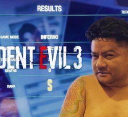 'เบน ชลาทิศ' โชว์เจ๋งเคลียร์ Resident Evil 3 ในระดับความโหดนรกแตก