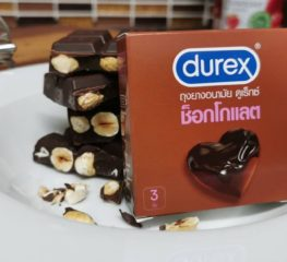 Review | Durex ถุงยางอนามัยกลิ่นช็อกโกแลต ความหวานช่วงกักตัวอยู่บ้าน