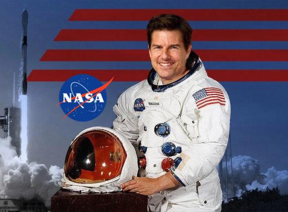 NASA และ ทอม ครูซ กำลังมีโปรเจคถ่ายหนังบนอวกาศ