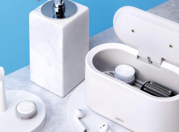 กล่องฆ่าเชื้อไวรัส SMATE White UV LED Light Drying Sterilizer เปิดตัวใหม่ฆ่าไวรัสได้ 99%