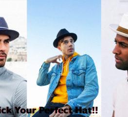 How To | วิธีการเลือกหมวกที่เหมาะสำหรับรูปหน้าของผู้ชาย