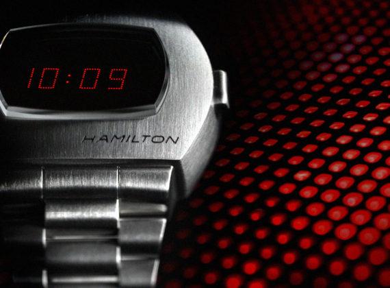 Hamilton PSR ชุบชีวิตนาฬิกาดิจิตอลเรือนแรกของโลกนำงานดีไซน์คลาสสิกล้ำยุคที่เปลี่ยนโลกของการบอกเวลาไปตลอดกาลกลับมาอีกครั้ง