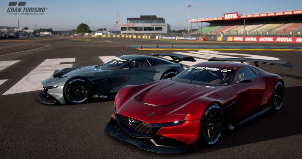 Mazda พร้อมระเบิดความแรงบนโลกออนไลน์ ส่งรถต้นแบบ Mazda RX-Vision GT3 Concept ลงแข่ง Gran Turismo Championships Series 2020