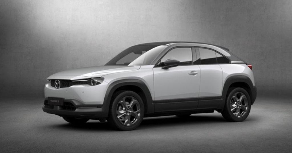 Mazda เริ่มการผลิต MX-30 รถยนต์พลังงานไฟฟ้าคันแรกของ Mazda