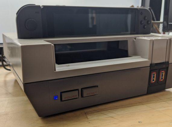 มือดีแปลงเครื่อง NES ให้กลายเป็น Dock สำหรับ Nintendo Switch