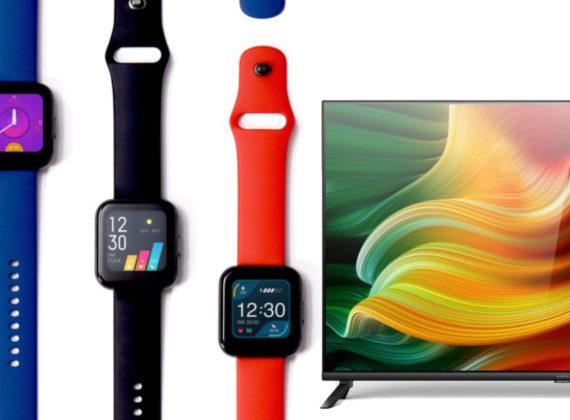 realme เปิดตัว realme watch และ realme TV รุ่นแรกของค่าย