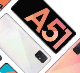 Samsung Galaxy A51 เป็นสมาร์ตโฟน Android ที่ขายดีที่สุดประจำต้นปี 2020