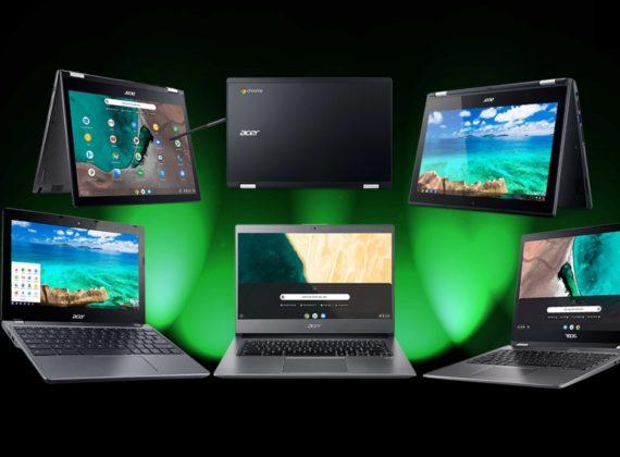 เอเซอร์ แนะนำคอมพิวเตอร์ โน้ตบุ๊กรองรับระบบปฏิบัติการ Chrome และ Windows