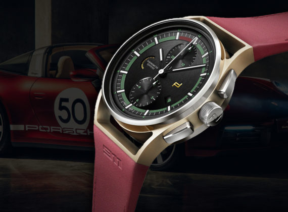 "PORSCHE DESIGN นำเสนอ CHRONOGRAPH ใหม่ ""911 Targa 4S Heritage Edition"" มรดกการดีไซน์ฉบับไอคอนทางประวัติศาสตร์"