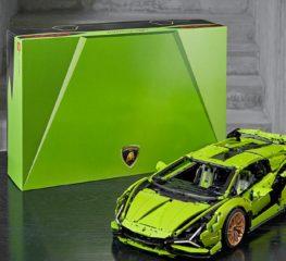 Lego Lamborghini SIÁN พร้อมให้สั่งซื้อแล้วในราคา 12,060 บาท