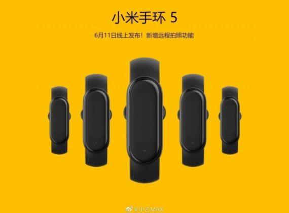 Xiaomi Mi Band 5 เตรียมเปิดตัว 11 มิถุนายน 2020 นี้