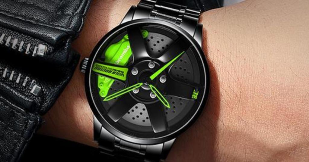 ProRacing Unique Watch ดีไซน์หน้าปัดสุดแหวกด้วยการหยิบล้อรถและดิสเบรค