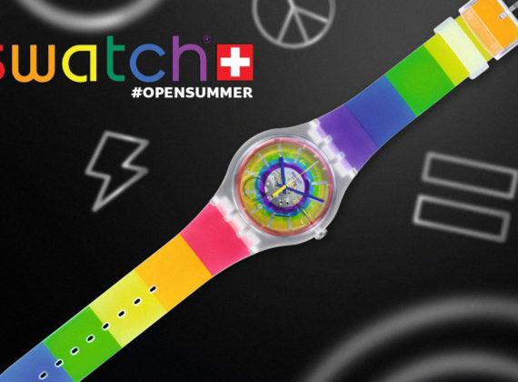 Swatch เปิดตัวคอลเลคชั่นใหม่ #OPENSUMMER สัญลักษณ์แห่งสีสันที่สะท้อนถึงความหลากหลาย ความหวัง และ Pride Month