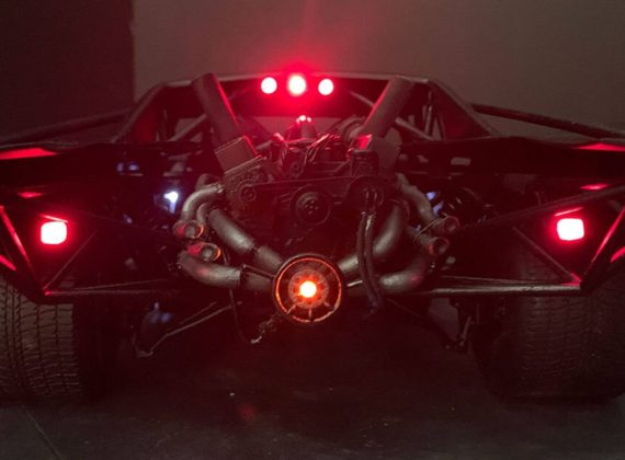 เผยภาพชัดๆ Batmobile เวอร์ชันผู้กำกับ Matt Reeves
