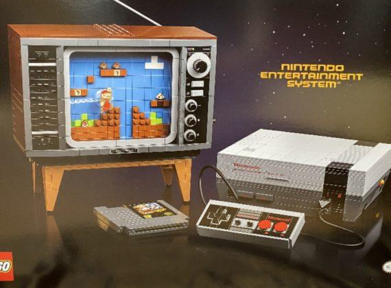 หลุดภาพ LEGO Mario ชุดใหม่ ที่มาพร้อมกับเซ็ตเครื่องเกม NES