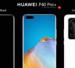HUAWEI P40 Pro+ สมาร์ทโฟนเรือธง 5G ตัวท็อปที่มาพร้อมดีไซน์สุดพรีเมียมและนวัตกรรมซูมไกล 100 เท่า  พร้อมให้เป็นเจ้าของได้แล้ววันนี้ ในราคา 40,990 บาท