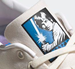 Luke Skywalker Stan Smith การกลับมารวมพลังกันอีกครั้งของ Adidas และ Star Wars