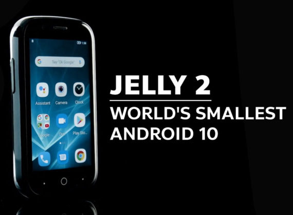 Jelly 2 สมาร์ทโฟนตัวเล็กสุดที่มาพร้อมกับ Android 10 เปิดระดมทุนใน Kickstarter แล้ว