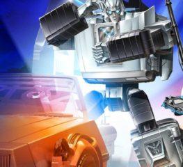 Hasbro ปล่อยหุ่น 'Gigawatt' Limited-Edition โปรเจคครอสโอเวอร์ฉลองครบรอบ 35 ปี Back to the Future x Transformers