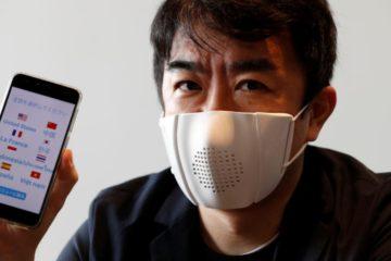 C-mask หน้ากากแปลภาษานวัตกรรมใหม่จากญี่ปุ่น ที่สามารถแปลได้มากถึง 8 ภาษา