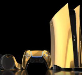 เตรียมพบ PS5 รุ่นที่หุ้มด้วยทองคำแท้ 24 กะรัต