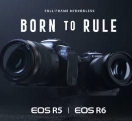 EOS R5 และ EOS R6 สุดยอดกล้อง Mirrorless ฟูลเฟรมจาก Canon ที่เพิ่งเปิดตัวไป