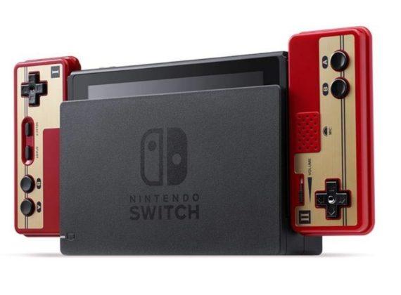 Nintendo วางขายจอย Nintendo Switch รูปทรงแฟมิคอม