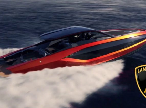 Tecnomar For Lamborghini 63 เรือยอร์ชหรูที่ได้แรงบันดาลใจมากจากรถลัมโบกินี